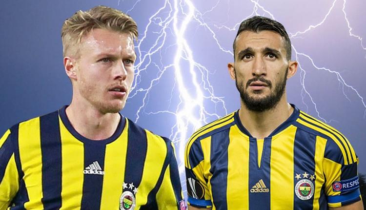 Fenerbahçe'de Mehmet Topal, Simon Kjaer'i çıldırttı
