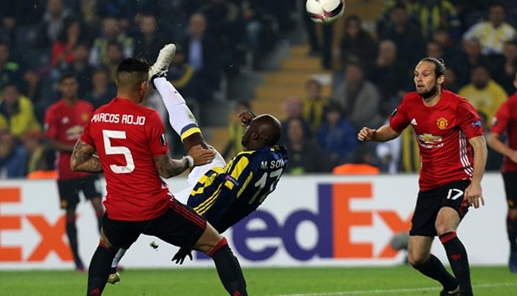 Fenerbahçe'de Moussa Sow'un Manchester United'a attığı gol 4. seçildi