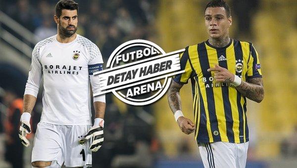 Fenerbahçe'de Van der Wiel ve Volkan Demirel gerginliği