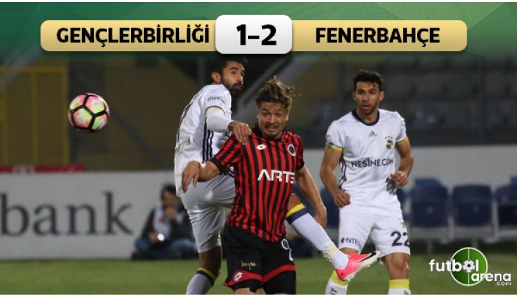 Fenerbahçe'den Ankara'da kritik 3 puan