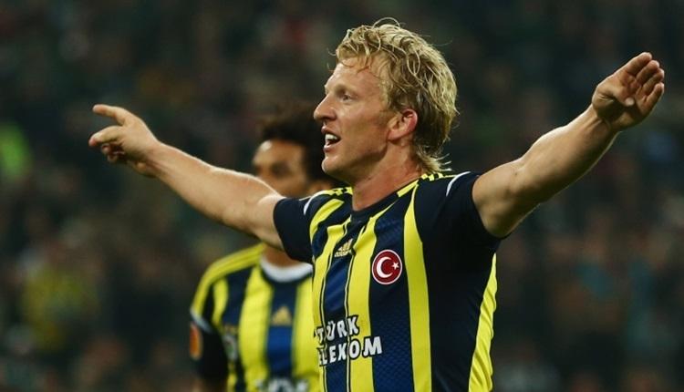 Fenerbahçe'nin eski yıldızı Dirk Kuyt futbolu bıraktı