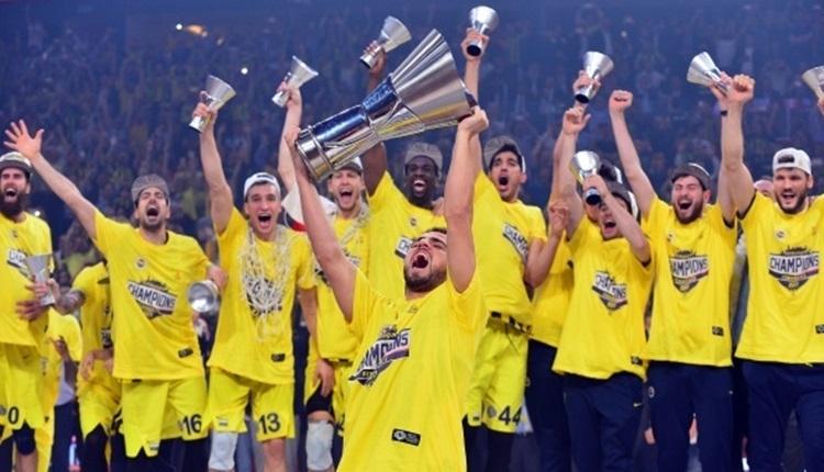 Fenerbahçe'nin Euroleague kupası anıtlaştırılacak
