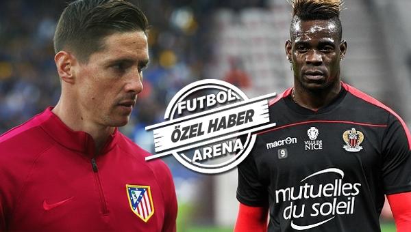 Galatasaray Balotelli ve Torres'i transfer edecek mi?