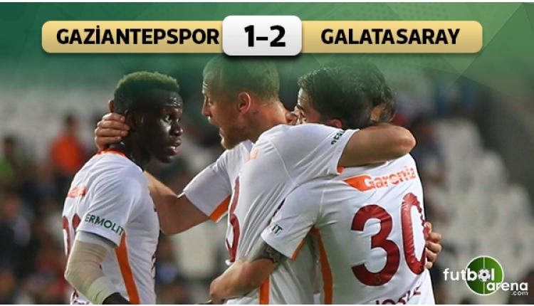 Galatasaray, Gaziantep'te nefes aldı