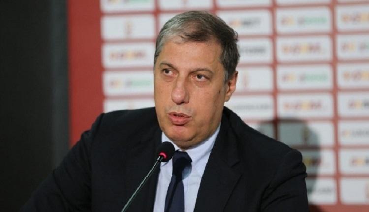Galatasaray - Osmanlıspor maçına Levent Nazifoğlu da geldi