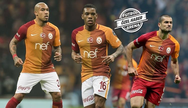 Galatasaray'da 3 futbolcunun menajeri kapıya dayandı