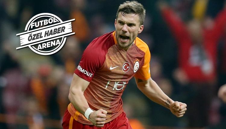 Galatasaray'da Lukas Podolski ilk 11'e dönüyor