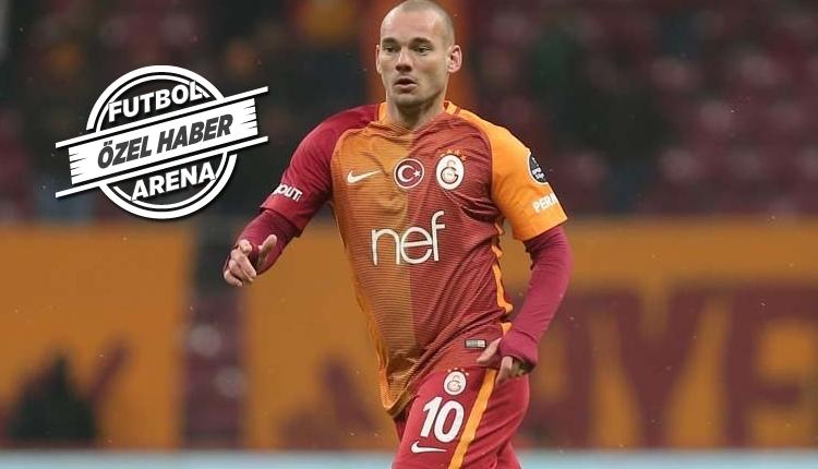Galatasaray'da Sneijder, Konyaspor maçında oynayacak mı?