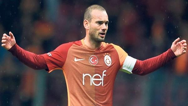 Galatasaray'da Wesley Sneijder'e ceza geliyor