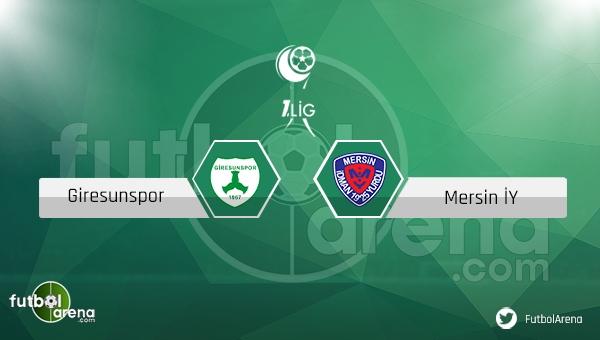 Giresunspor Mersin İdman Yurdu maçı saat kaçta, hangi kanalda? (CANLI İZLE)