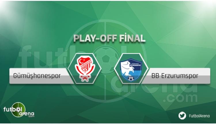 Gümüşhanespor - Erzurumspor maçı saat kaçta, hangi kanalda?