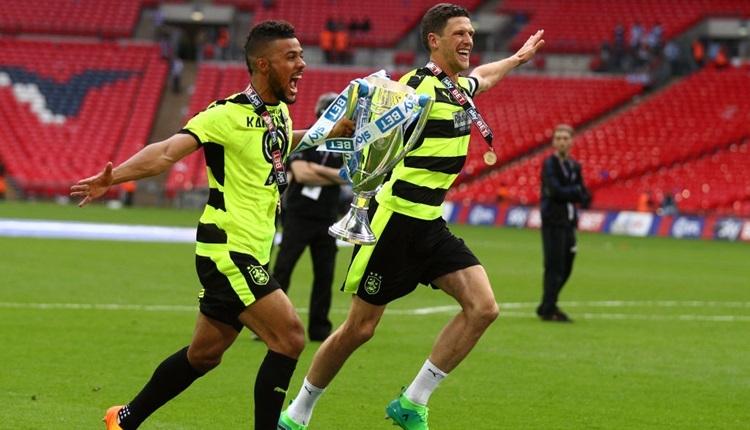 Huddersfield Town, İngiltere Premier Lig'e yükseldi