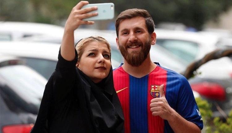 İranlı Messi'ye gözaltı şoku