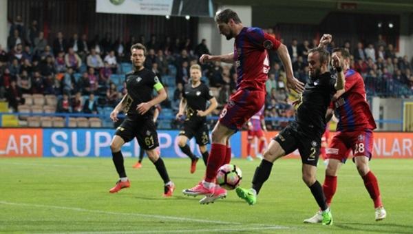 Karabükspor 1-0 Osmanlıspor maç özeti ve golleri (İZLE)