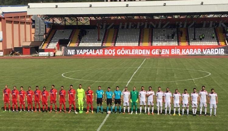 Kastamonuspor 1966 2-2 Gümüşhanespor maçı özeti ve golleri