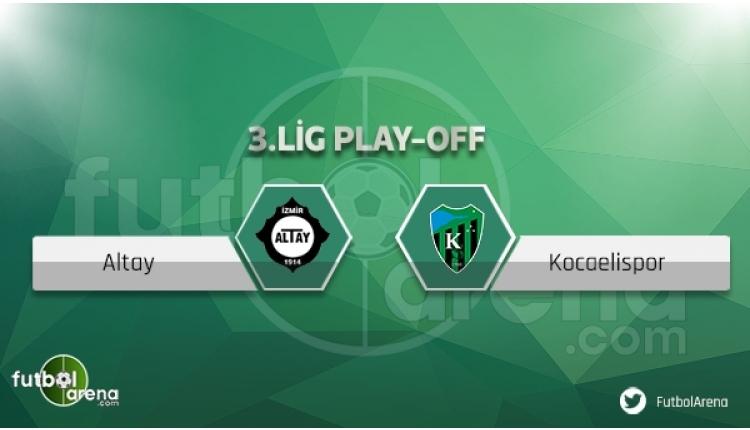 Kocaelispor - Altay maçı saat kaçta, hangi kanalda? (CANLI İZLE)