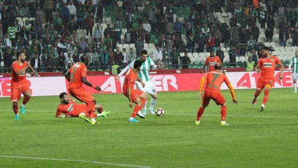 Konyaspor 2-3 Alanyaspor maçı özeti ve golleri (İZLE)
