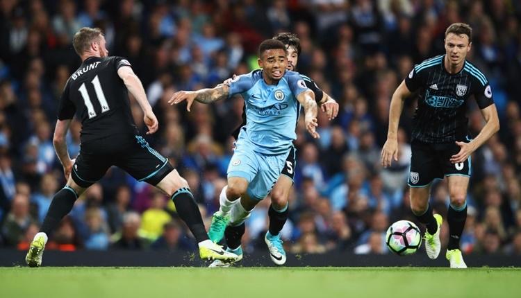 Manchester City 3-1 West Bromwich maçı özeti ve golleri (İZLE)