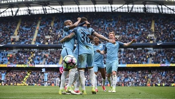 Manchester City 5-0 Crystal Palace maçı özeti ve golleri (İZLE)