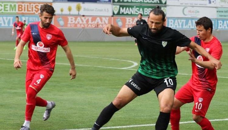 Manisa Büyükşehir Belediyespor 0-2 Silivrispor maç özeti ve golleri