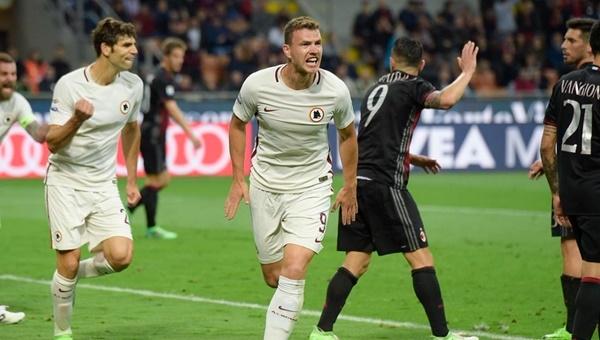 Milan 1-4 Roma maçın özeti ve golleri (İZLE)