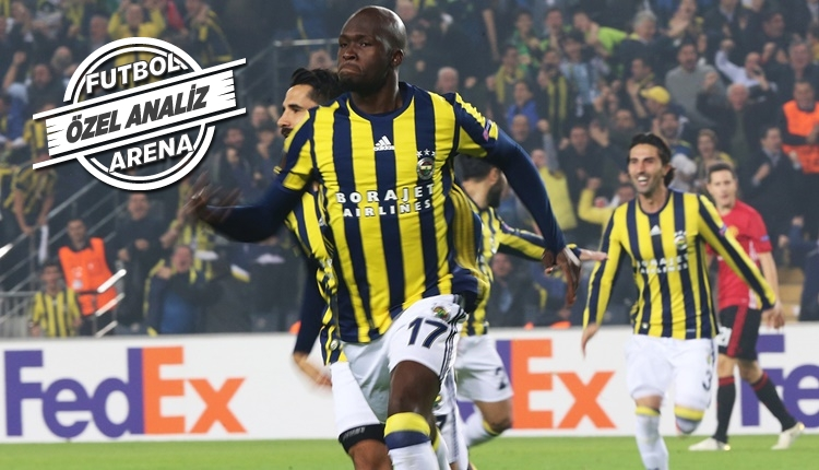 Moussa Sow'dan Fenerbahçe'ye müthiş ortalama