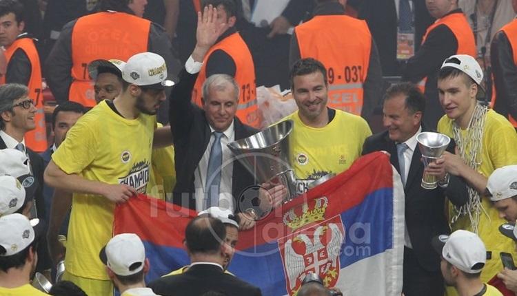 Fenerbahçe koçu Obradovic'ten Aziz Yıldırım vurgusu