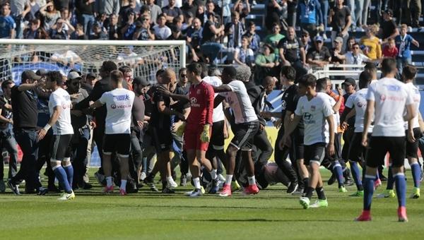 Olimpik Lyon maçı sonrası Bastia'ya ceza yağdı