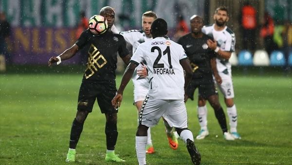 Osmanlıspor 0-0 Konyaspor maç özeti (İZLE)