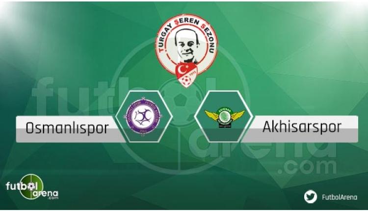 Osmanlıspor Akhisarspor maçı sakat ve cezalı futbolcular