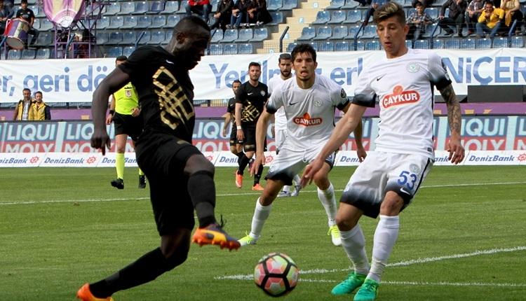 Osmanlıspor - Çaykur Rizespor maçı özeti ve golleri (İZLE)