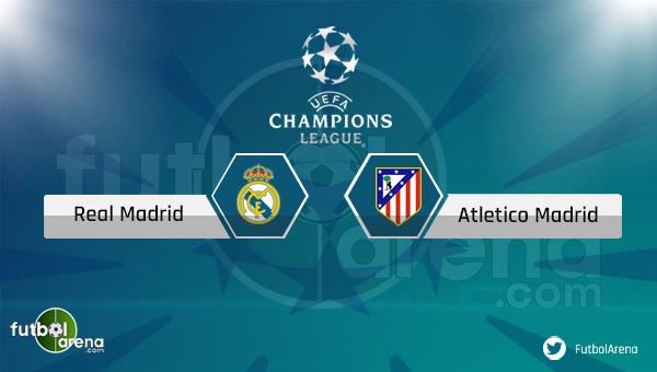 Real Madrid - Atletico Madrid maçı saat kaçta, hangi kanalda? (CANLI İZLE)