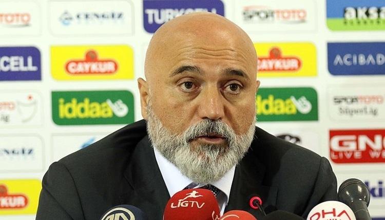 Rizespor'da Hikmet Karaman'dan küme düşme açıklaması