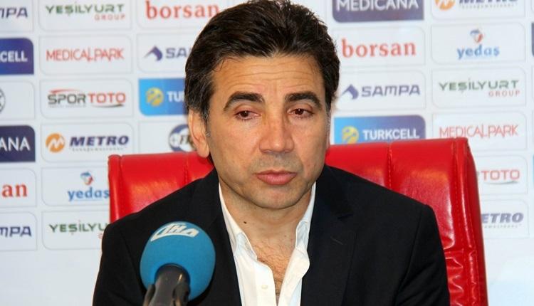 Samsunspor'da Osman Özköylü'den taraftara mesaj