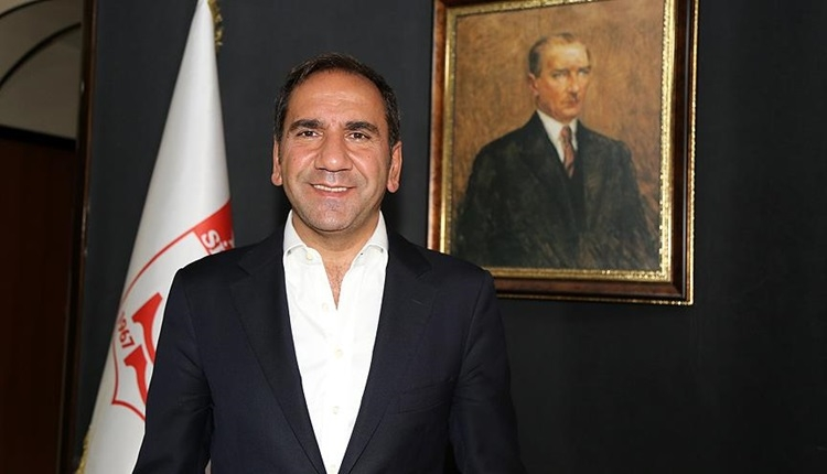 Sivasspor'da başkan yeniden Mecnun Otyakmaz oldu