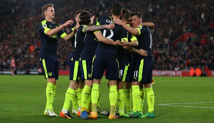 Southampton 0-2 Arsenal maçı özeti ve golleri (İZLE)