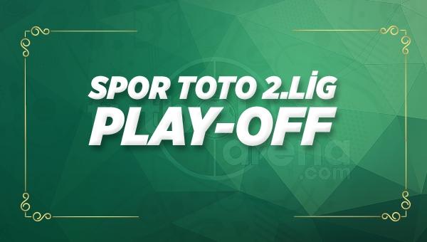 Spor Toto 2. Lig play-off maç sonuçları