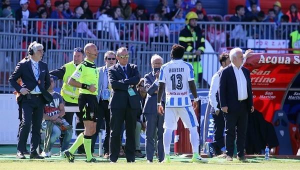 Sulley Muntari'nin cezası iptal edildi