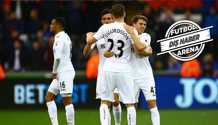 Swansea'li futbolcular taraftarların bilet paralarını ödedi!