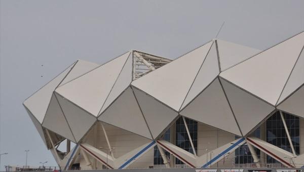 Trabzonspor'un yeni stadı Medical Park Arena hasar gördü