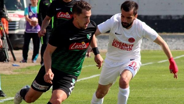 Ümraniyespor 1-1 Denizlispor maçı özeti ve golleri (İZLE)