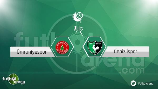 Ümraniyespor Denizlispor maçı saat kaçta, hangi kanalda? (CANLI İZLE)