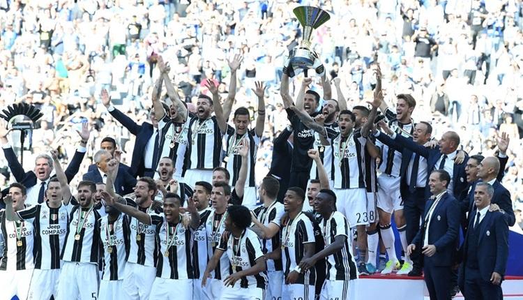 Ve Juventus şampiyon!