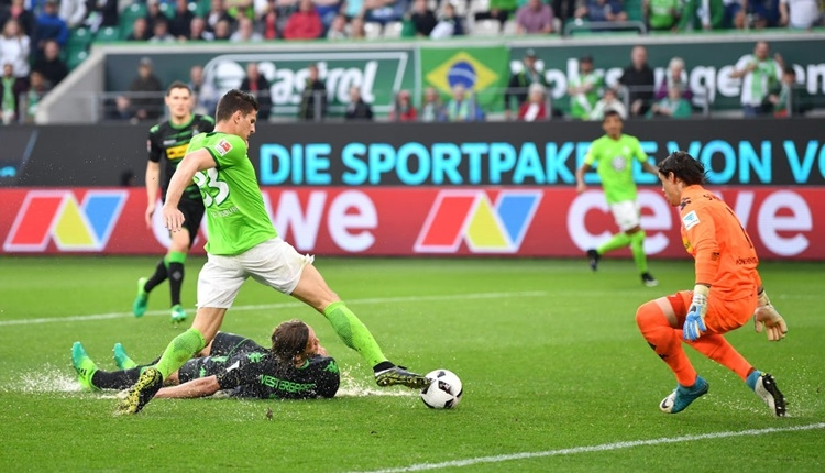Wolfsburg 1-1 Mönchengladbach maç özeti ve golleri