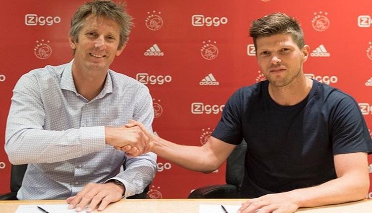 Ajax transferde Huntelaar ile sözleşme imzaladı