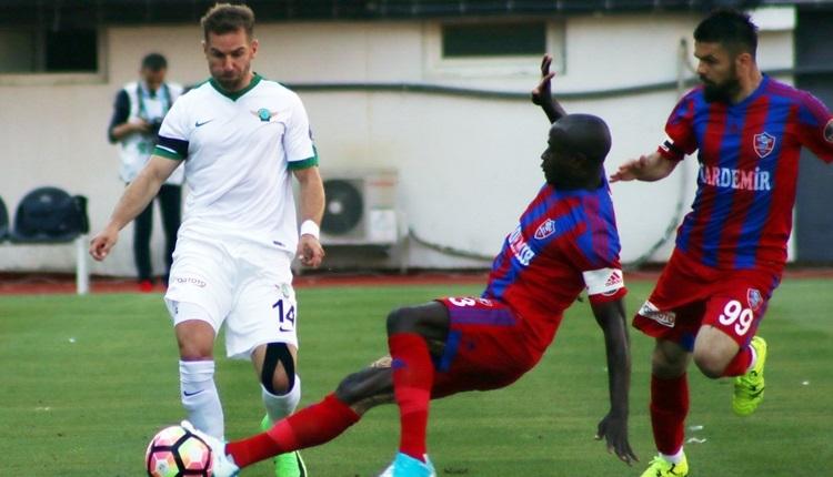 Akhisar Belediyespor 2-3 Karabükspor maçı özeti ve golleri (İZLE)