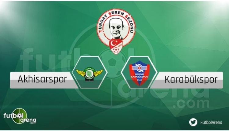 Akhisar Belediyespor Karabükspor maçı sakat, cezalı oyuncular