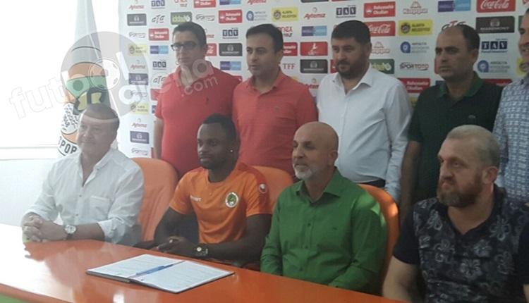 Alanyaspor, Mbilla Etame'yi transfer etti