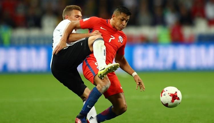 Almanya 1-1 Şili maç özeti ve golleri izle