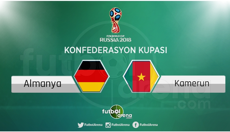 Almanya - Kamerun maçı saat kaçta, hangi kanalda?